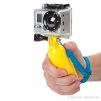 Wholesale GoPro Floating Grip Handheld Grip Stick Floaty Grip flotage Stabilizer Monopod for Underwater Diving Camera Go pro Hero Free DHL
