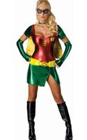 adult robin - New Fashion F1369 Robin Adult Halloween Costume Sexy Fantasy Dress Costume