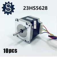 Wholesale 10Pieces NEMA23 STEPPER MOTOR OZ IN A Phases Leads CNC Foam Mill Cut BYGH627