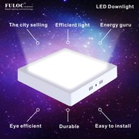 Wholesale Surface Mounted w w w w square led panel light led ceiling light AC85