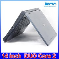Wholesale brand HP P intel duo core used laptop and cheap computer from really original famous brand with DVD ROM