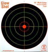 Wholesale 50 Pack Inch Reactive Splatter Targets Glow Shot New