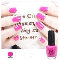 Cheap Fashion op Nail Polish Lacquer Candy Color Easy Day Enamel Polish Nail Art Decoration Nails Nail Lacquer Nail Art Salon Gel 60 colors