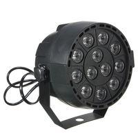 Wholesale High Quality W Sound Active RGB LED DMX Stage Lighting Laser Strobe Projector Party DJ Disco Lamp AC90 V US EU Plug