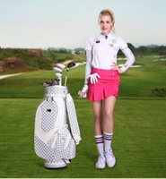 Wholesale free Send shoes new style Golf club ms rose gold package Titanium wood full goals