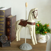 Wholesale groceries do the old wood crafts retro Trojan horse ornaments gifts mixed batch C0720