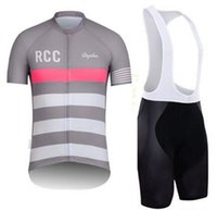 Wholesale Tracksuits rcc gray assos cycling jersey sets rapha fabric team fit cut Sportswear racing jerseys cycling gear Bike Clothing Bib Shorts