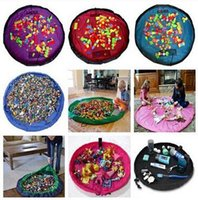 used toys - Big size Storage bag Children baby home use portable outdoor mat Toys Toys Fast housing bag color optional