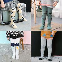 baby leggings feet - tight leggings warm trousers feet stockings Socks cute baby girls hosiery Socks Neonatal panty stocking hose Baby Kids Clothing