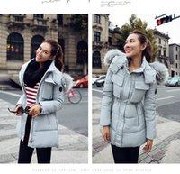 Wholesale Winter jacket women fashion jackets women raccoon Real fur women down coat thickening winter coat women parka plus size