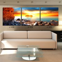 Cheap 2014 Sale Top Fashion 3 Piece Canvas Wall Panelas Winter Park Dota 2 Sail Racing Hand Painted Oil Painting Mass Effect World Map