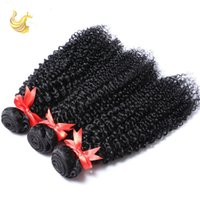 best natural beauty - Virgin Curly Human Hair Weaves for Cheap Hot Beauty Kinky Curly Ntural Human Hair Bundles with Closure Best Hair Extension Piece for Wedding