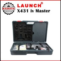 auto tester price - Free DHL auto car diagnostic tester scanner launch x431 x iv master gx4 original update online x431 iv scan tool with best prices