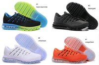 Wholesale pair New air cushion Men s Training Shoes max white orange sneakers size US7 US12 free ship fast