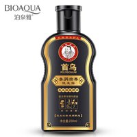 Wholesale ml honeylocust ufa raise hair nourishing oil control dandruff Radix polygoni multiflori dandruff nourishing shampoo
