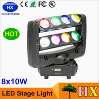 best moved - 2016 BEST x10 Watt led spider effects lights moving head stage lighting beam light DMX512 DJ lights