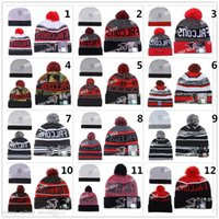 artificial chemicals - football Falcons beanies Winter High Quality Beanie For Men Women Atlanta Skull Caps Skullies Camo Knit Cotton Hats
