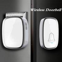 Wholesale Home Wireless Door Bell Remote Control Wireless Digital Receiver Doorbells