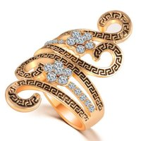 band of infinity - Two colour of Stone Rings rhinestone infinity women jewelry size size6