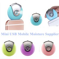 android makers - 2016 Mini USB Mobile Moisture Supplier Humidifier Mist Maker Fogger For Cell Phones iPhone s s Android Mobile