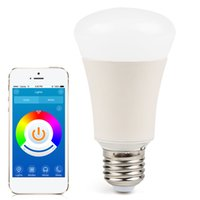 Wholesale MagicLight Bluetooth Smart LED Light Bulb Smartphone Controlled Wake Up Lights Dimmable Multicolored Color Changing Party Lights Bulb