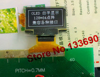 Wholesale inch OLED Display screen with x64 Resolution white on black SPI Parallel and IIC Interface NEW