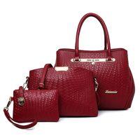Wholesale 2016 new handbag fashion Europe and snake leather hand buns mother bag