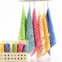 Wholesale 1 New Hot Microfiber Towel Soft Bath Hand Towel Face Cleaning Beach Towels x25cm