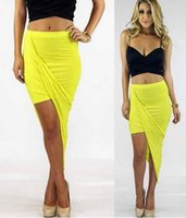 band club - High Low Asymmetry Club Skirts Dress Summer Sexy Cut Out Banded Draped Open Maxi Skirts High Waist Womens Knitted Long Skirts Dresses LJY11