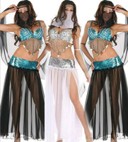 arab dance - Indian dancers costumes In the Middle East Arab masked goddess performance clothing The uniform sexy belly dance