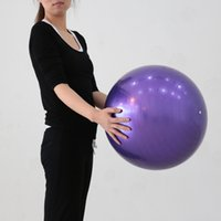 Wholesale 75cm cm cm Yoga Exercise Ball Balance Flexibility Strength Training Equipment Fitness Ball Gym Ball