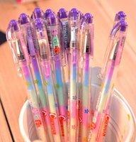 Wholesale Stationery Crystallise Colors Changing Pilot Gel Ink Pen Color Chameleon Pen School Office Supplies Kids Gift Pens