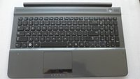 Wholesale Black New and Original Laptop Rest C shell For SAMSUNG RC510 with US Version keyboard