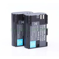 Wholesale Hot sell LP E6 LP E6 LPE6 mAh Camera Batteries For Canon D Mark II III D D EOS D for canon accessories