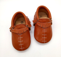 baby wrestling - in bulk chic soft leather football won wrestling handmade cheap infant moccs shoes plain baby moccasins