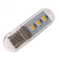 Wholesale High Quality Led Light W Flash Disk Style USB Warm White LED Light with Touch Switch