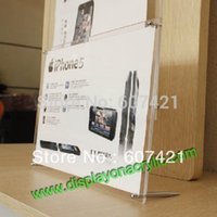 Wholesale Pack Units Modern Counter Top Acrylic Poster Frames Advertising Boards For Displaying A4 Posters