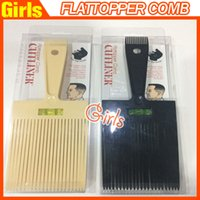 Wholesale New Hair Flattoper Comb Hair Style Tooling Hair Clipper Hair Cutters Hairdressing with spirit level clipper trimmer comb Drop shipping