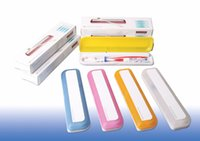 Wholesale personal travel care toothbrush sterilizer uv lighted portable Dental Sterilization Equipment Toothbrush box