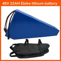 Lithium Battery best bike case - best W w Electric Bike Battery V AH triangle Lithium battery with PVC Case A BMS V A charger Free triangle bag
