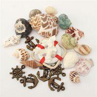 beautiful seashells - DIY Beautiful Vintage Fashion Beach Mixed SeaShells Mix Sea Natural Shells Shell Craft Aquarium Decoration Mediterranean style