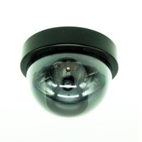 Wholesale 2016 Fake Dummy Dome Surveillance CAM Dummy Indoor Security CCTV Camera flashing for Home Camera LED