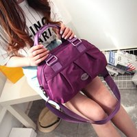 Wholesale Oxford cloth twill shell fold shoulder bags across large capacity nylon cloth cloth Ms