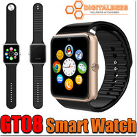 answers purple - GT08 Bluetooth Smart Watch With SIM Card Slot NFC Health Watchs For Android Samsung and IOS Iphone Smartphone Bracelet Smartwatch In Box