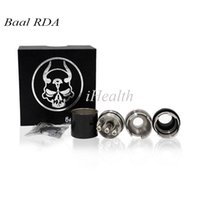 bearing replacement - Carbon Fiber Baal RDA Clone Rebuildable Atomizer with Wide Bore Drip Tips Replacement Tubes packing Baal Carbon Fiber DHL Free