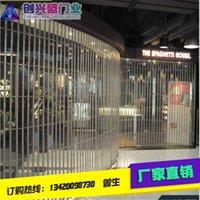 Wholesale Manufacturer direct electric rolling gate arc crystal shutter door shopping mall store anti theft door door