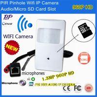 Wholesale Audio Video Security P2P Onvif P MP IP Pinhole WIFI Covert Camera HD PIR STYLE Motion Detector IP Camera Sd Card Wifi