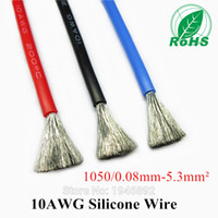 Wholesale AWG Flexible Silicone Wire RC Cable AWG TS Outer Diameter mm mm Square Model Airplane Wire Electrical Wire