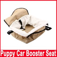 bag cage - Fashion Useful Portable Pet Soft Car Booster Seat Soft Safety Dog Cat Puppy Carrier Cage Travel Tote Bag Basket Luggage