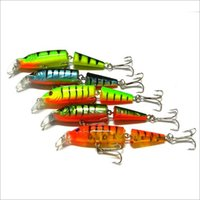 bass the fish - 5Pcs The New Color Section Two fish Minow cm g Fishing Hard Lures Fishing Baits Alice mouth bass